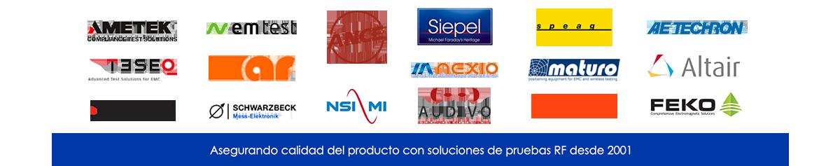 Las mejores marcas en Compatibilidad Electromagnética