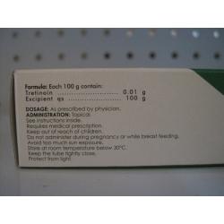 Retin A Tretinoina 0 01 Gel 40g Farmacia Del Nino Pharmacy