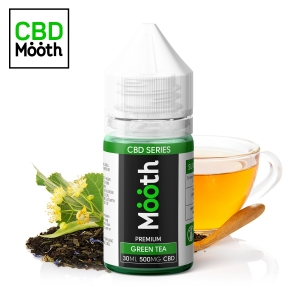 Green Tea CBD Mooth - 500mg.